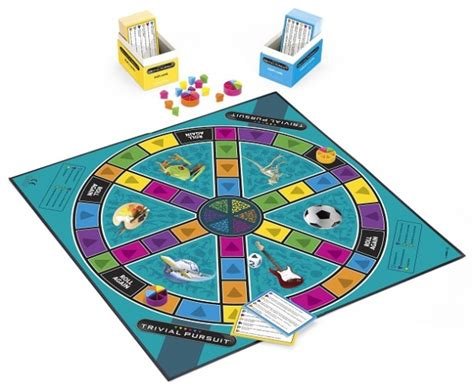 trivial pursuit family edition enjoy some quality family time revealing your inner genius