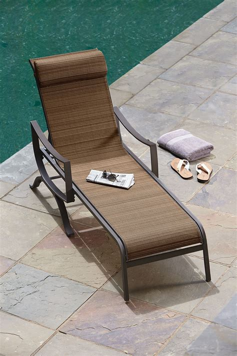 ty pennington palmetto chaise lounge outdoor living