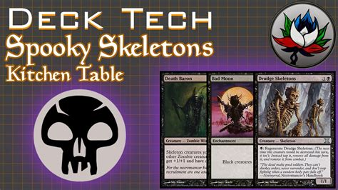 spooky skeletons casual deck tech mtg