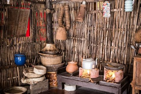 A Traditional Thai Style Kitchen Still Found In The