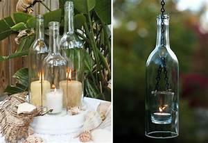 Lichterkette In Flasche : windlichter aus alten flaschen the creative side of me pinterest beautiful bar und flasche ~ Markanthonyermac.com Haus und Dekorationen
