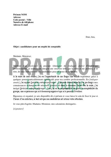 lettre de motivation gratuit pour un emploi employment application