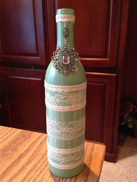 decorative wine bottle wine bottle crafts wedding decoration the crafts i made