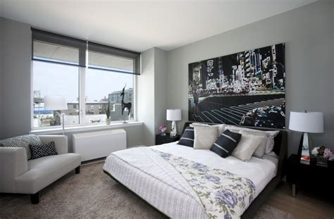 Fetching Image Of White And Gray Bedroom