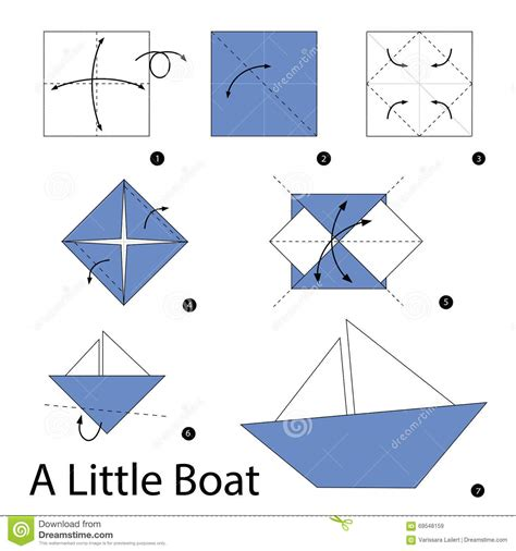 How To Make A Paper Boat Step By Step With Pictures by Origami How To Make A Simple Origami Boat That Floats Hd