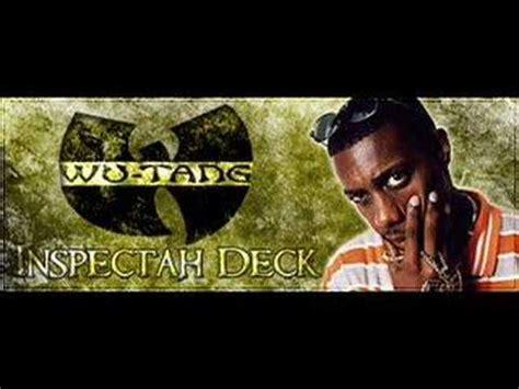 inspectah deck got my mind made up cut verse