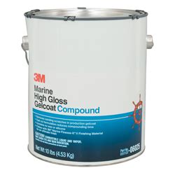 Rubbing Compound For Boats by 3m High Gloss Gelcoat Compound Gallon West Marine