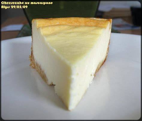 cheesecake fromage blanc mascarpone d 233 lices d alyss