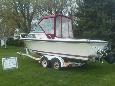 Cabin Cruiser Fishing Boat For Sale by 21 Stamas Cabin Cruiser Fishing Boat 1986 For Sale For