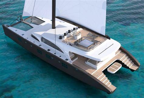 Mega Catamaran Sailing Yachts by Sunreef 102 Catamaran Yacht Charter Superyacht News