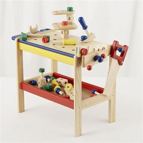 Kids' Imaginary Play Kids Toy Workbench & Tools The