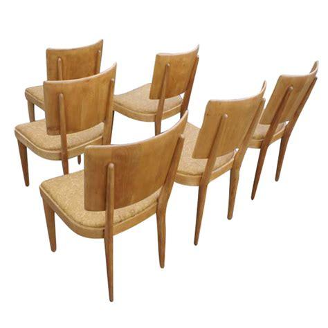 6 vintage heywood wakefield c 155 stingray dining chairs