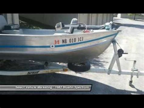 Maycraft Boats Youtube by 1982 Bluefin Spectrum Jm9998ms20 Youtube