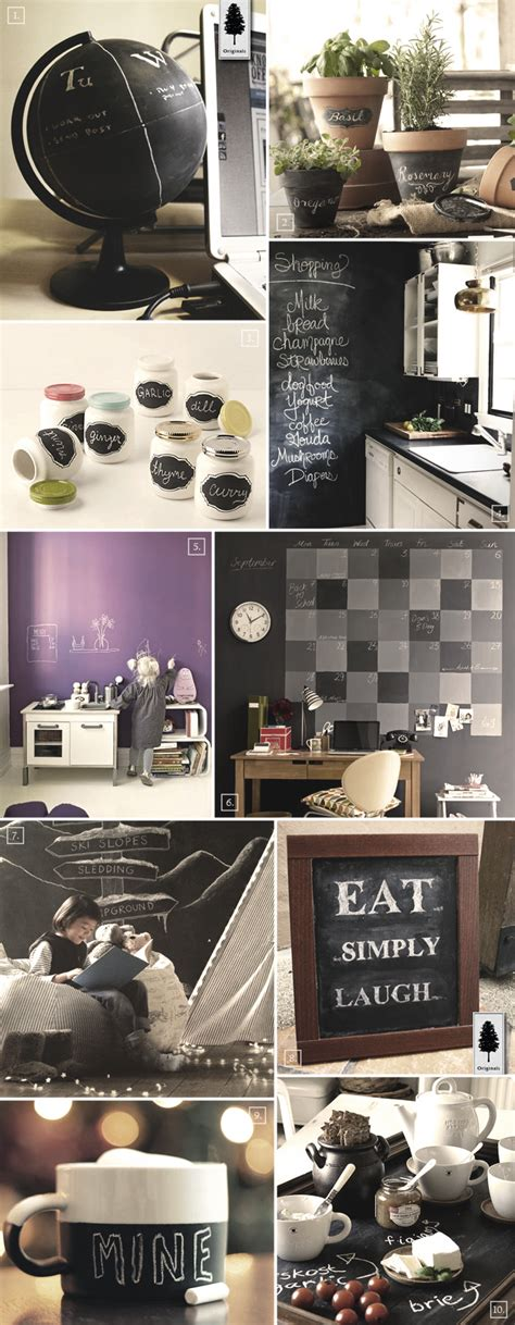 Diy Chalkboard Paint Decor Ideas For The Home  Home Tree