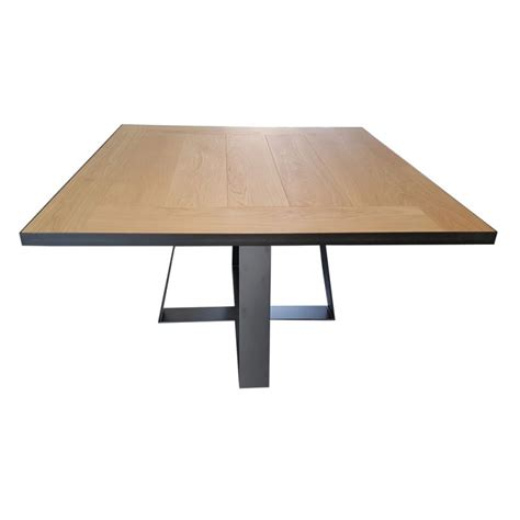 grande table carree salle manger maison design bahbe