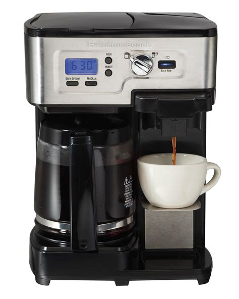 Amazon.com: Hamilton Beach FlexBrew Single Serve & Full Pot Coffee Maker (49983A): Kitchen & Dining