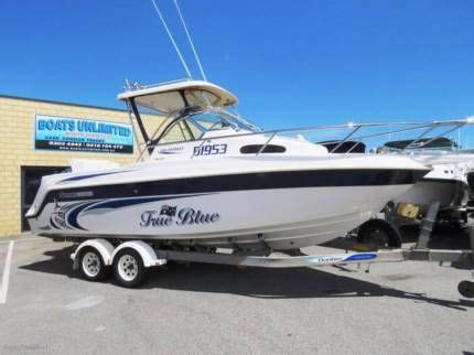 Boats Perth Gumtree by Haines Hunter 680 Patriot Walk Around Big Volume Fishing