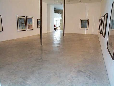 Natural Power Float Concrete Floors, Victoria Miro Gallery