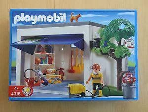 Playmobil Garage 4318 **bnisb** ***rare*** Ebay