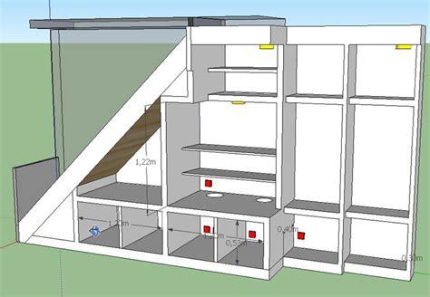 17 best images about rangement sous escalier on nantes coat storage and armoires