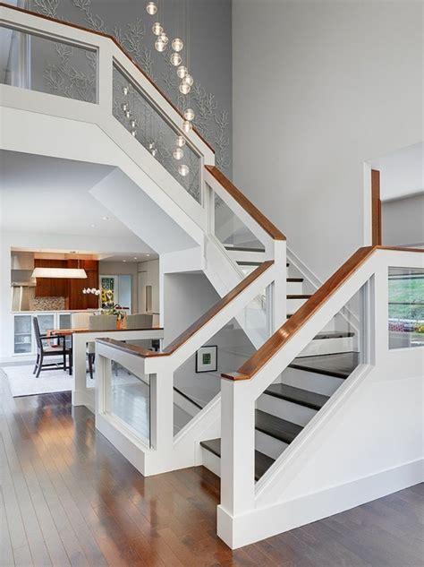 designs d escaliers avec garde corps en verre archzine fr staircases and lofts