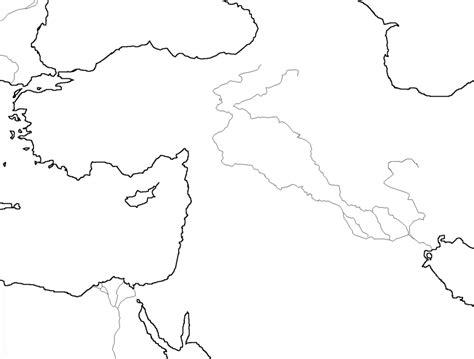 Map Quiz No 1 Mesopotamia  6th Grade Social Studies
