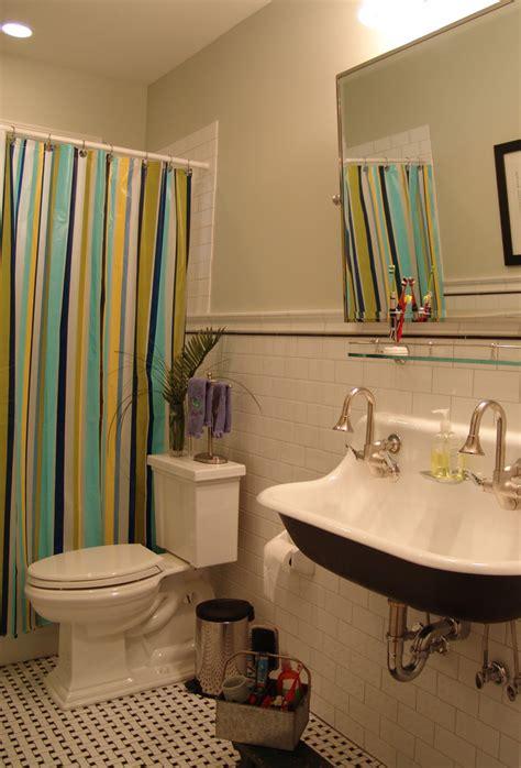 kohler brockway sink bathroom eclectic with carriage house