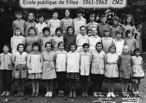 ecole publique de filles cm2 1961 224 1970 cours la ville media tics photos 201 cole