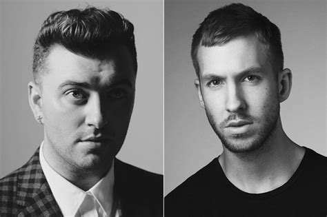 Calvin Harris Shares Unflattering Drawing Of Sam Smith On