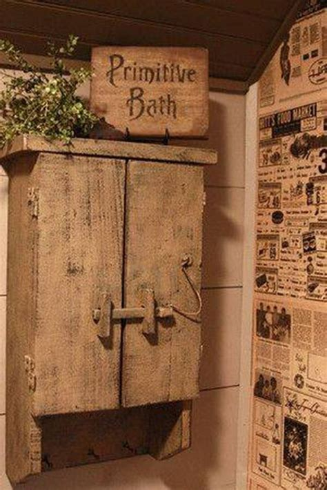 14 primitive bathroom decor how to combine a modern bathroom with a primitive style home