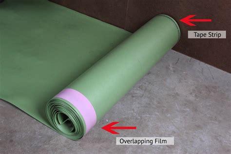 how to install floor muffler ultraseal underlayment