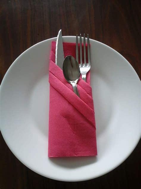 pliage serviette range couvert mod 232 le 3 cuisine et service de table par dubo arts