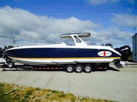 Cigarette Boat Center Console For Sale by 2014 Used Cigarette Huntress Center Console Fishing Boat