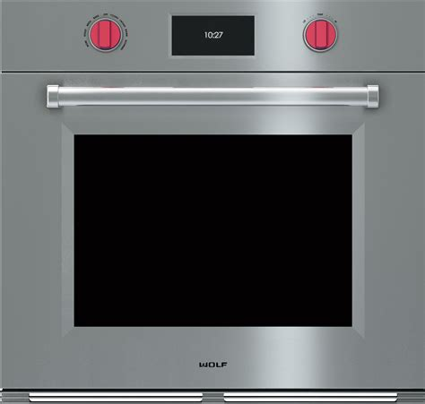 Wolf SO30PMSPH 30 Inch Single Electric Wall Oven with 51