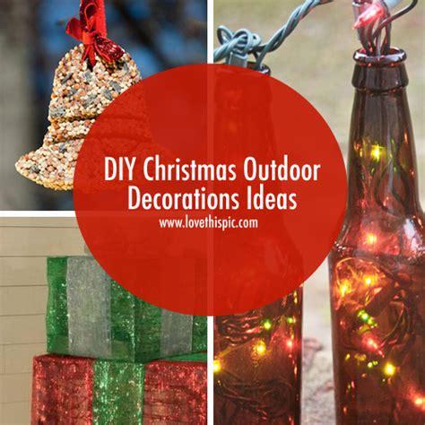 diy outdoor decorations ideas
