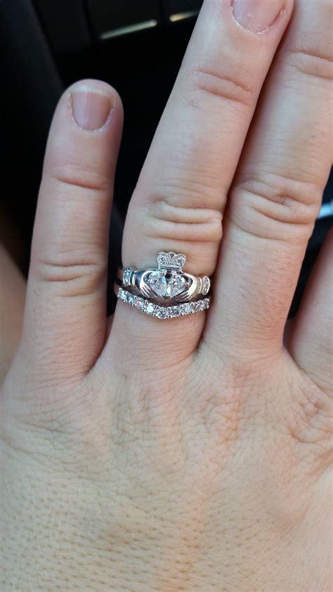 Engagement Wedding Ring Combo