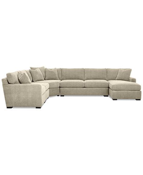 Radley Sectional Sofa Macys by Radley 5 Fabric Chaise Sectional Sofa Furniture