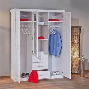 Kleiderschrank Mit Platz Für Fernseher : massivholz kleiderschrank in wei mit spiegel genf ~ Markanthonyermac.com Haus und Dekorationen