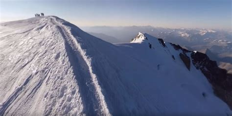 deux carottes de glace extraites du mont blanc afin d 234 tre conserv 233 es en antarctique