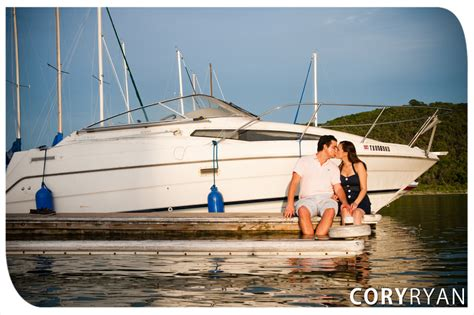Boat Props Austin by Rayen Geoff Austin Engagement Session At A Lake