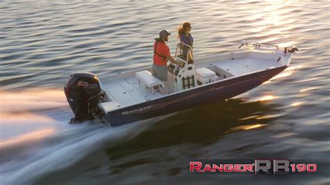 Ranger Aluminum Boats Youtube by Ranger Aluminum Rb190 On Water Footage Youtube