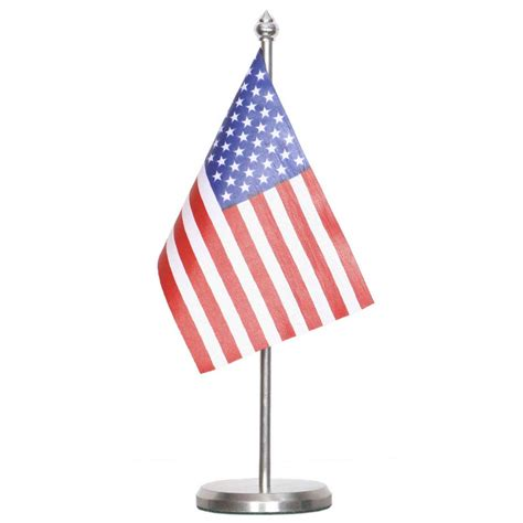Usa Table Flag With Stainless Steel Base And Pole  Flag. Skinny Long Table. Small Ergonomic Desk. Fancy Tables. Syntel Global Service Desk. Space Saving Kitchen Table. Mod Podge Desk. Cabinet Table. Large Dining Room Tables