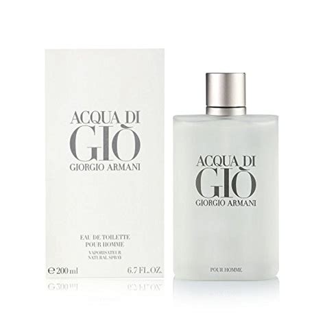 acqua di gio by giorgio armani for eau de toilette spray 6 7 ounces cosmetic