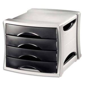 module de classement noir 4 tiroirs module de rangement classement box casier bloc bureau