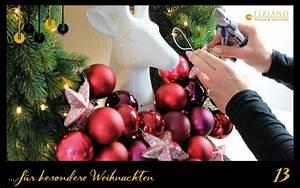 Weihnachtskranz Für Tür : dekorativer weihnachtskranz f r die wand tiziano ~ Markanthonyermac.com Haus und Dekorationen