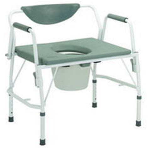 new drive new deluxe heavy duty all in one drop arm commode toilet chair for