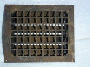 vintage antique cast iron floor register heat grate air