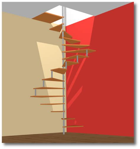 escalier avec faible reculement maison design lockay