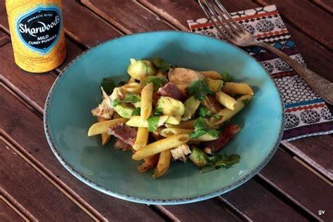 la salade de p 226 tes au poulet et curry