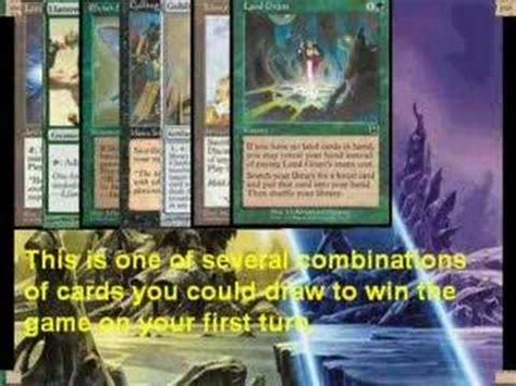 turn 2 win mtg legacy manaless dredge vs monored burn gameplay how to save money and do it